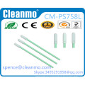 Class100 antistatic ESD safe handle Polyester/dacron tipped Swabs TX758L